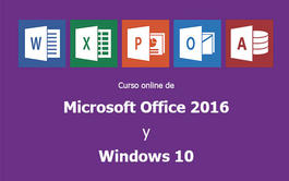 Curso a distancia (Online) de Microsoft Office 2016 y Windows 10