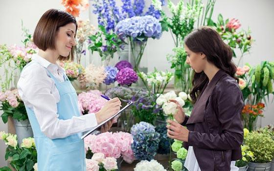 Curso online de Servicios y Productos en Floristería