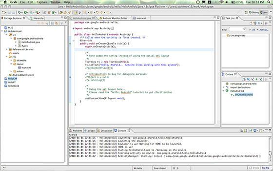Curso online de Desarrollo de Aplicaciones Android con Eclipse